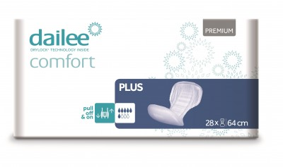 Dailee Comfort Premium PLUS, vložné pleny 28 ks