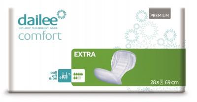 Dailee Comfort Premium EXTRA, vložné pleny 28 ks