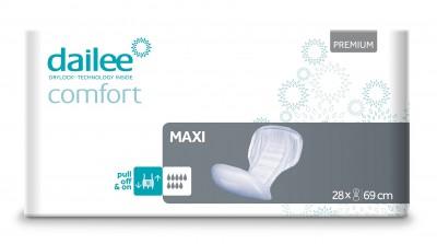 Dailee Comfort Premium MAXI, vložné pleny 28 ks