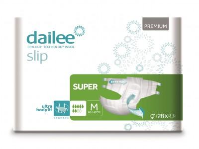Dailee Slip Premium Super M, kalhotky zalepovací 28 ks