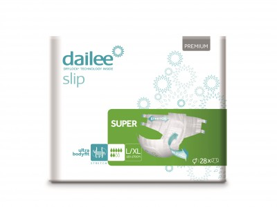 Dailee Slip Premium Super L/XL, kalhotky zalepovací 28 ks