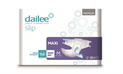 Dailee Slip Premium Maxi M, kalhotky zalepovací 28 ks