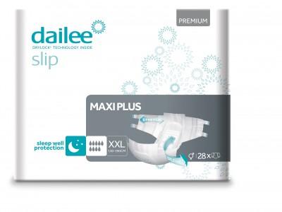 Dailee Slip Premium Maxi Plus XXL, kalhotky zalepovací 28 ks