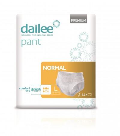 Dailee Pant Premium Normal L, kalhotky natahovací 14 ks