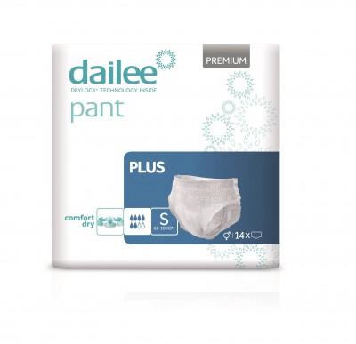 Dailee Pant Premium Plus S, kalhotky natahovací 14 ks