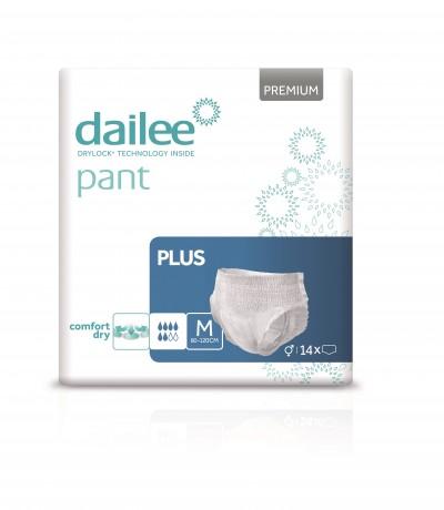Dailee Pant Premium Plus M, kalhotky natahovací 14 ks