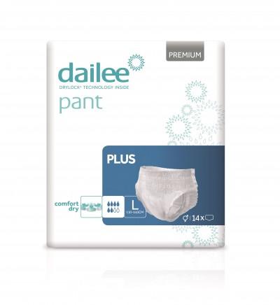 Dailee Pant Premium Plus L, kalhotky natahovací 14 ks