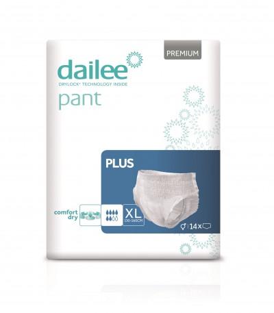 Dailee Pant Premium Plus XL, kalhotky natahovací 14 ks