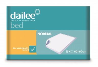 Dailee Bed Normal 60 x 60, podložky 25 ks