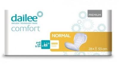 Dailee Comfort Premium NORMAL, vložné pleny 28 ks